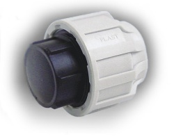 50mm mdpe end cap for 90mm soil pipe collar