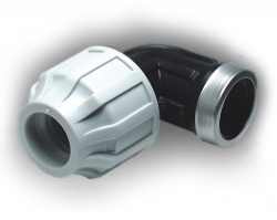 20mm mdpe elbow x female bsp for 90mm soil pipe collar