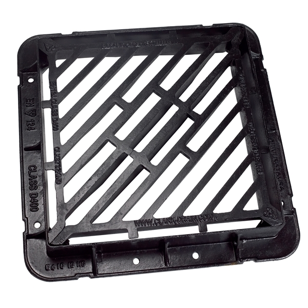D double tri ductile iron gully grate