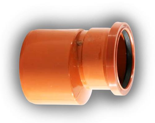 110mm x 82mm level invert reducer for 82mm soil pipe