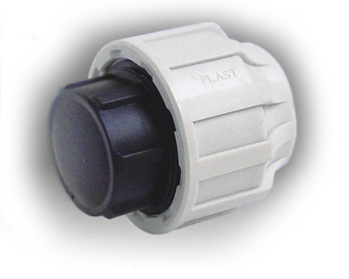 20mm mdpe end cap for 90mm soil pipe collar