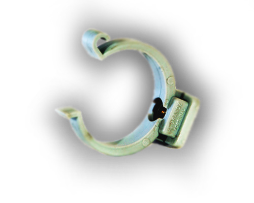 32mm mdpe pipe clip for 90mm soil pipe collar