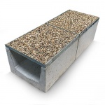 Bielbet a15 commercial gravel top channel www for 90mm soil pipe collar