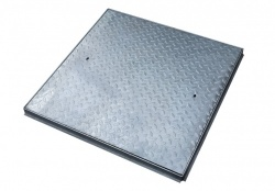 750mm x 750mm 5Tonne Steel Cover & Frame C10BG