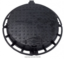 600mm Dia D400 Ductile Iron Manhole Cover & Frame