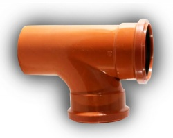 200mm 87° D/S Junction Underground Drainage
