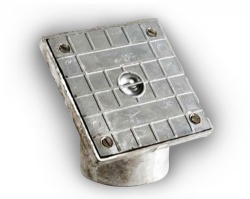 110mm Square Aluminium Rodding Eye