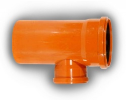 160mm x 110mm Underground Drainage 87° Junction D/S