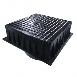 9'' Surface Box (235mm x 235mm x 75mm) Badged Water