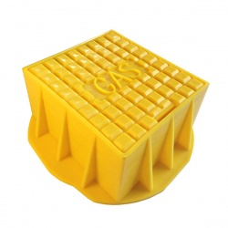 Yellow Gas Surface Box 185mm x 190mm x 75mm Polypropylene