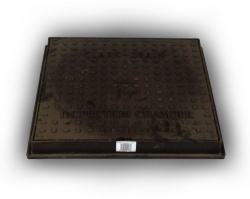 320mm Diameter Square Manhole Cover & Frame