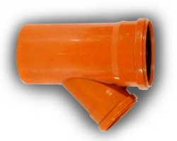 200mm x 110mm 45° D/S Junction Underground Drainage