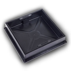 320mm Recessed Manhole Cover & Frame 80mm deep
