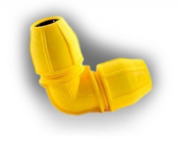 25mm Gas Compression Elbow