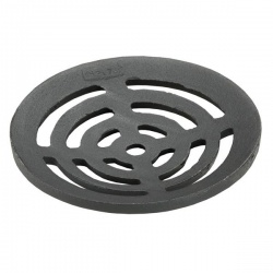 "6½"" Dia x ⅜"" Circular Cast Iron Gully Grid (165mm x 9mm)"