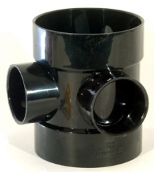 110mm Short Bossed Pipe (50mm boss)
