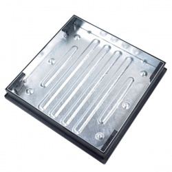 450mm x 450mm Recessed Cover & Frame 46mm deep