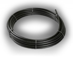 Black MDPE 63mm x 25m Coil