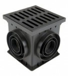 Catch Basin/Yard Drain Unit A15 Plastic Grate