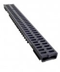 Low Profile Drainage Channel x 1m Plastic Grate