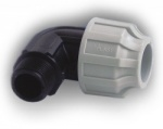 50mm MDPE Elbow x 1½'' Male BSP