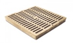 12'' Slotted Catch Basin Grate - Sand