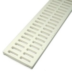 NDS Slotted Drainage Channel Grate White  x 900mm