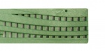 NDS Wave Decorative Channel Grate Green x 900mm