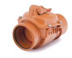160mm Drainage Non Return Valve (single flap)