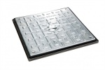 450mm x 450mm 5Tonne Locking Steel Cover & PP Frame PC5BG3