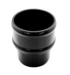 Alutec Evolve 63mm Pipe Socket (non eared) Heritage Black