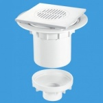 McAlpine TSG2T6WH Shower Gully