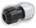 25mm MDPE x 15-22mm Universal Transition Coupling