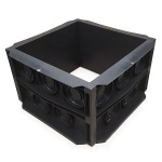 450mm x 450mm x 320mm deep Duct Access Box
