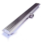 Laser Cut Square Shower Drain 700mm Long