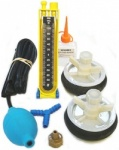 Drain Testing Kit c/w 2 x 100mm plugs